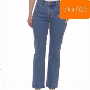 Lee Classic Fit Blue straight leg Women jeans